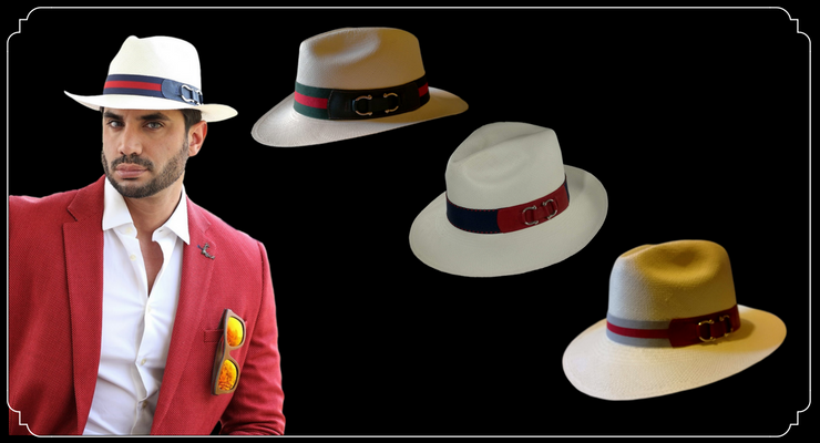 sombreros panama hombre
