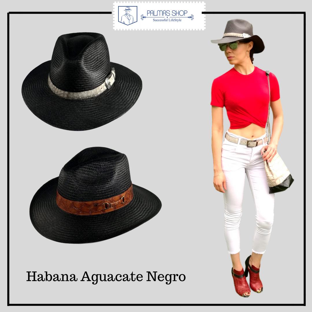 sombreros panama de mujer